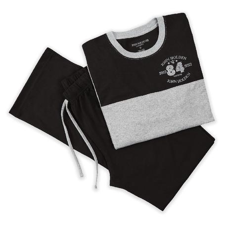 pijama-paulino-melange-negro-xl