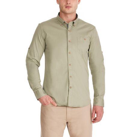 camisa-ml-victor-verde-militar-s