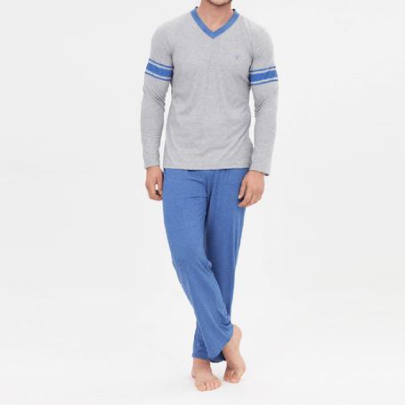 pijama-promocional-lazaro-melange-xl