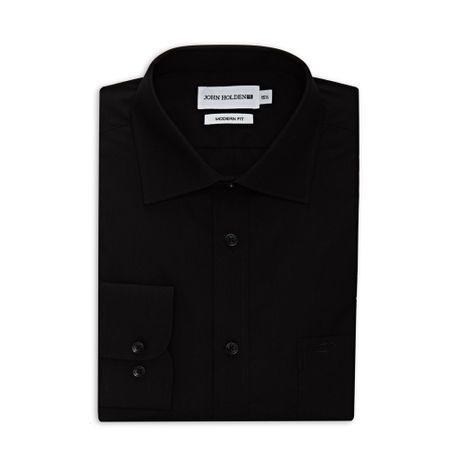 camisa-ml-lucca-negro-15½