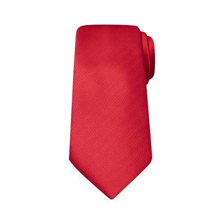 -corbata-microfibra-jh-8-cm-rojo-modelo-2