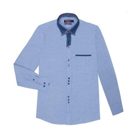camisa-donatelli-fiorello-azul-15½